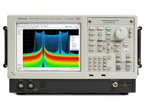 Real Time - Spectrum Analyzer Material Research