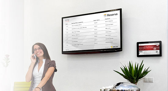 Reserva Room Booking Digital Signage & Video Wall