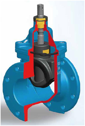 Resilient Seat Gate Valve Water Transmission & Distribution