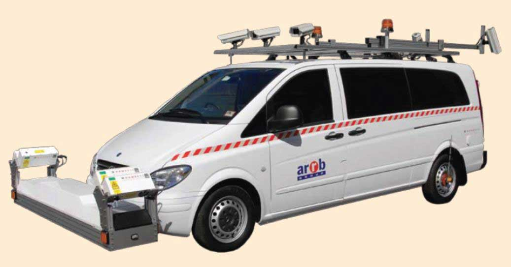 ARRB Network Survey Equipment & Data Collection Vehicle