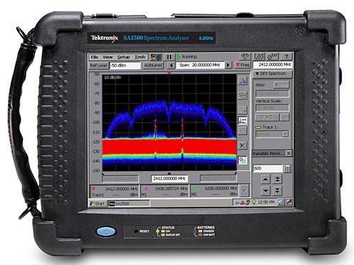 Spectrum & Power Analyzer Material Research