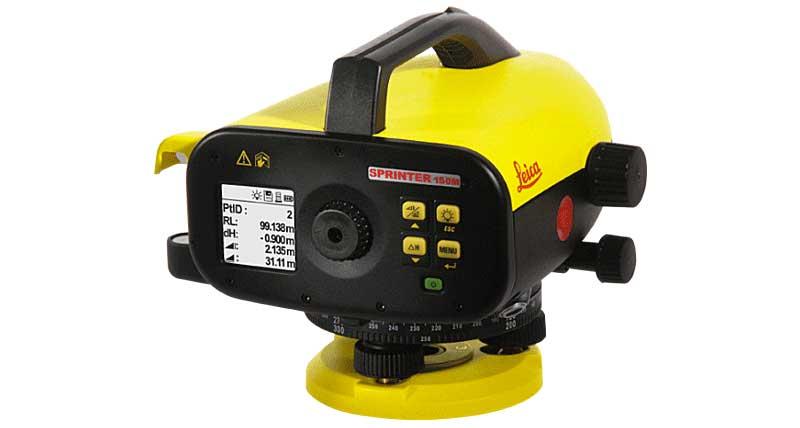 SPRINTER 250 & 150 - Digital Levels Surveying Solutions