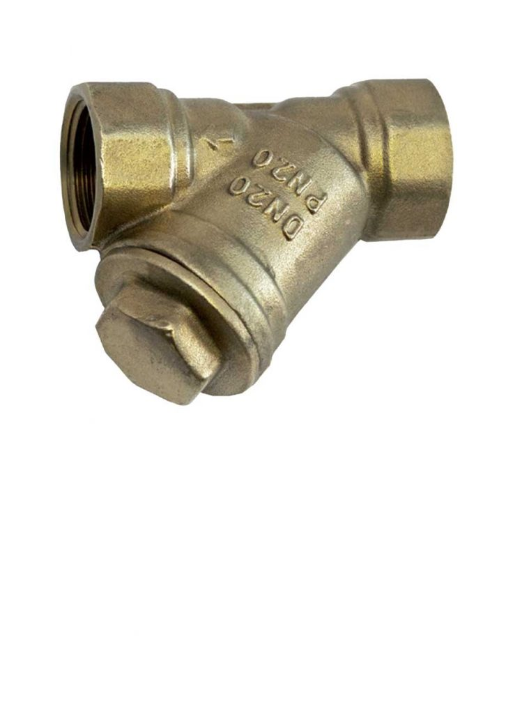 Y Type Strainers - Brass Plumbing Products