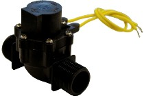 2 Way Plastic Solenoid Valve For Sports Turf Irrigation
