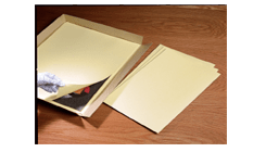 Unbuffered Oversized File Folders