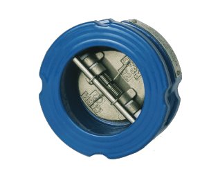 Dual Plate Check Valve - Cast Iron