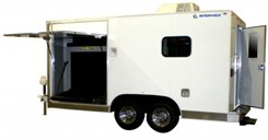 Luggage Scanner in TRAILER