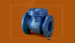 Wastewater Swing Type Check Valves, Metal Seated