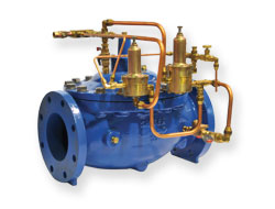 Pressure Relief Valve for Wastewater