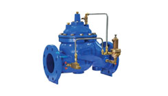 Pressure Reducing Valve for Wastewater