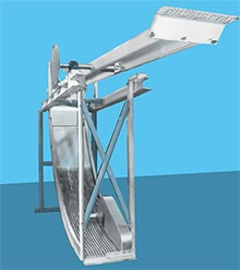Mechanical Arc Screens for Wastewater
