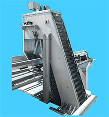 Plastic Conveyor Screens for Wastewater
