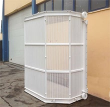 Basket Screen for Wastewater