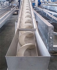 Screw Conveyors for Wastewater Treatment