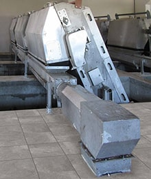 Screw Conveyors with Compactor for Wastewater Treatment