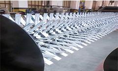 Horizontal Shaft Surface Aerators for Wastewater Treatment
