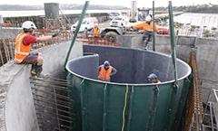 Wastewater Vortex Products Vortex Dropper Formers