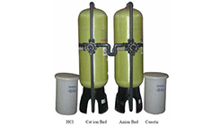 Demineralization / Deionization for Industrial Filtration Plants