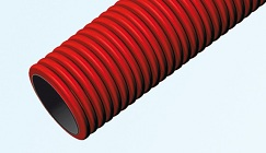 Double Wall Corrugtaed HDPE Pipes