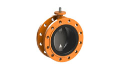 Concentric Type Butterfly Valve - Rubber Lined