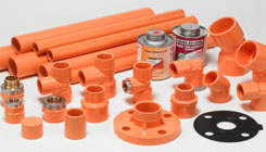 Painted Grooved Fitting - Pipe Fitting supplier in UAE - Dutco