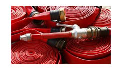 Fire Hose/ Fire Hose Rack & Branch Pipes