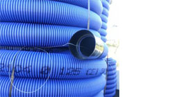 Double Wall Corrugated PE Pipes in Coils