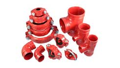 Painted - Grooved Fittings