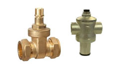 Lock Shield Valve & Pressure Reducing Valves