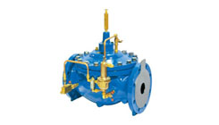 Pilot Operated Globe Type Control Valve