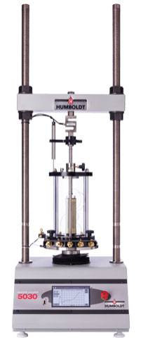 Triaxial Civil Engineering Testing Equipment