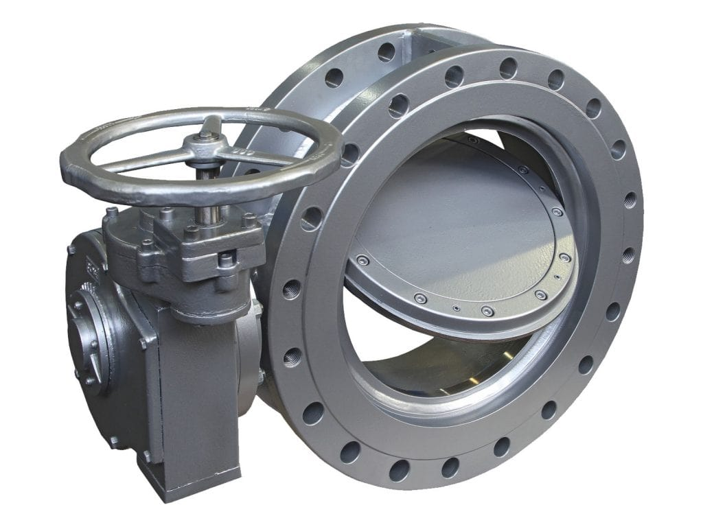 Triple Eccentric Type Butterfly Valves Water Transmission - High Pressure Line