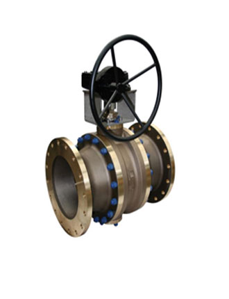 Trunnion Mounted Ball Valves Water Transmission - High Pressure Line