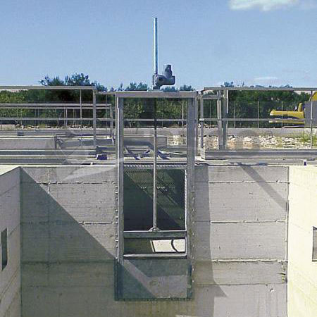 Wall Mounted Sluice Gates District Cooling Products