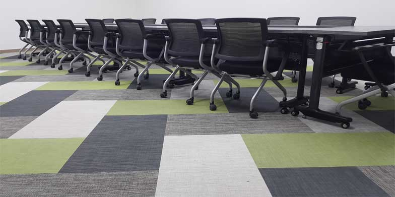Woven Vinyl Tiles Flooring Products