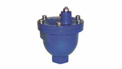 Air Release Valves for Wastewater-Sewage