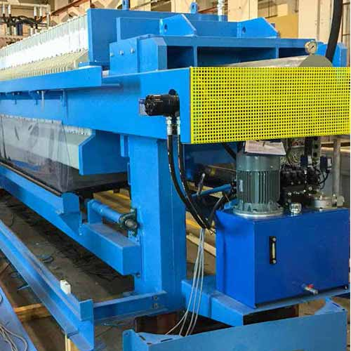 Wastewater Sludge Dewatering Belt Presses