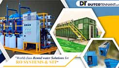 Water Treatment Rental Water Treatment Plant