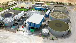 Waste Water Treatment Process Plant